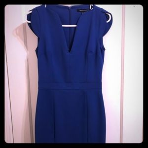 French Connection Blue Sleeveless Dress